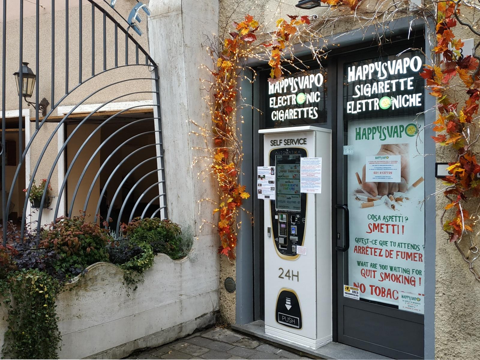 Como negozi happy smoker sigarette elettroniche brianza for Negozi arredamento como