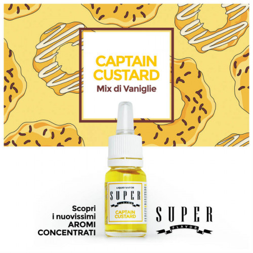 Aroma Captain Custard 10ml