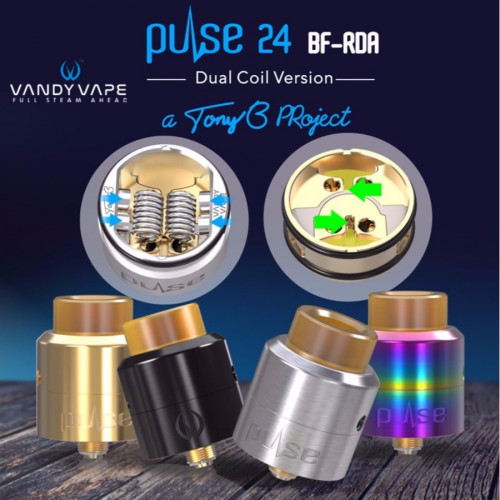 Vandy Vape - Pulse bf 24 RDA
