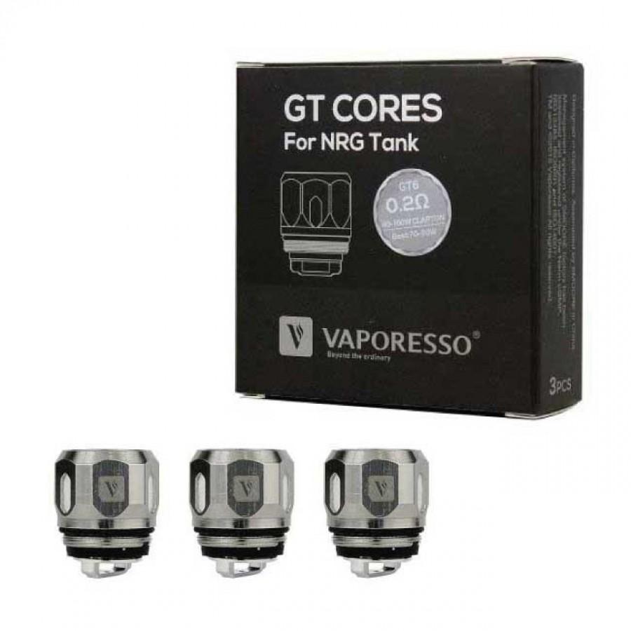 Vaporesso Resistenza GT6 Cores Per NRG Tank (Confezione 3 Pezzi)