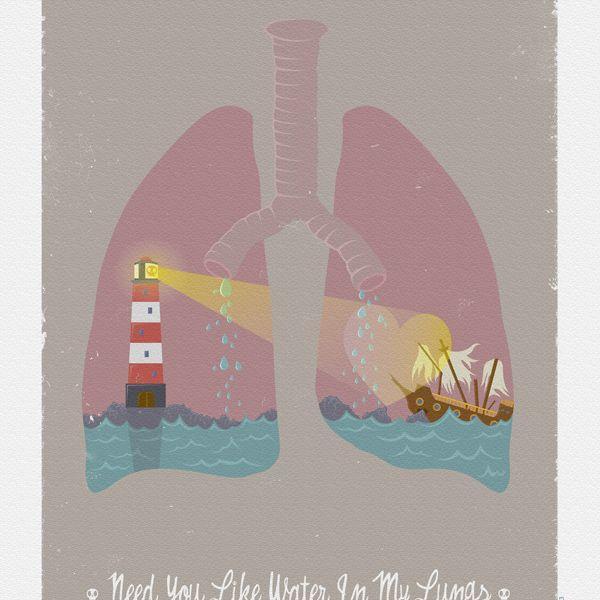 E' vero che lo svapo fa venire l'acqua nei polmoni ?
