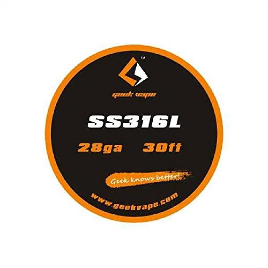GeekVape - Filo Resistivo 28GA SS316L 10m