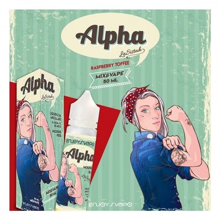 Alpha 50ml Mix Series by La Sistah - Enjoy Svapo