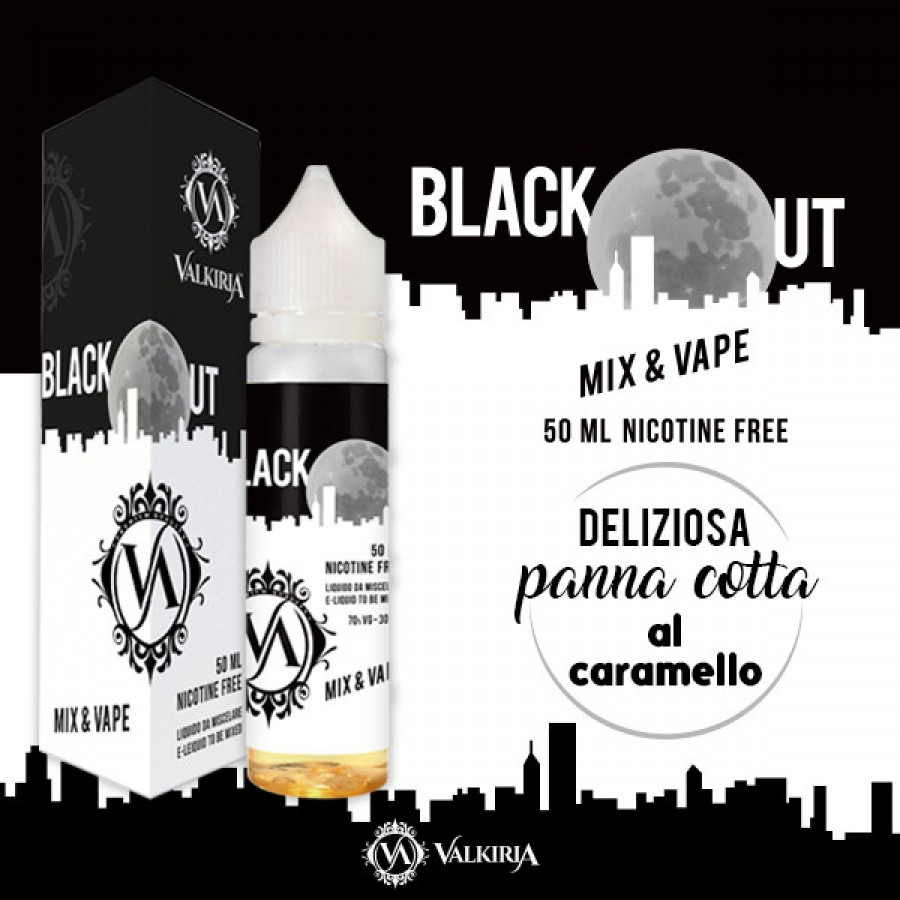 Valkiria - BlackOut Mix&Vape 50ml