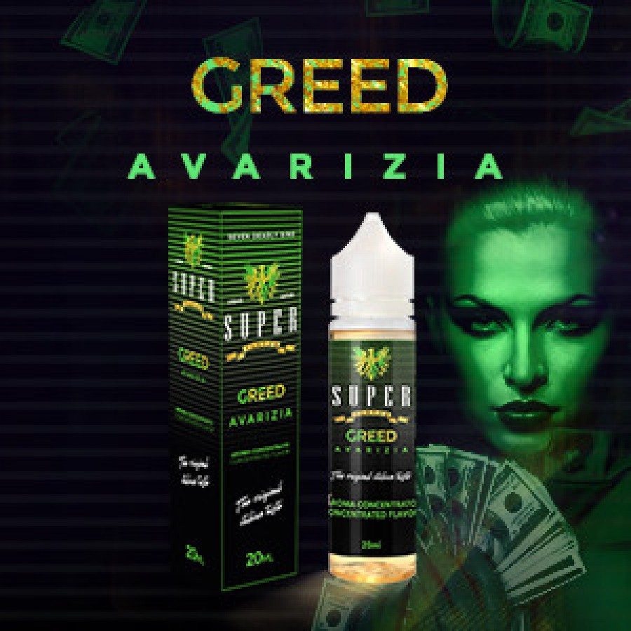 Super Flavor Concentrato 20ml - Greed