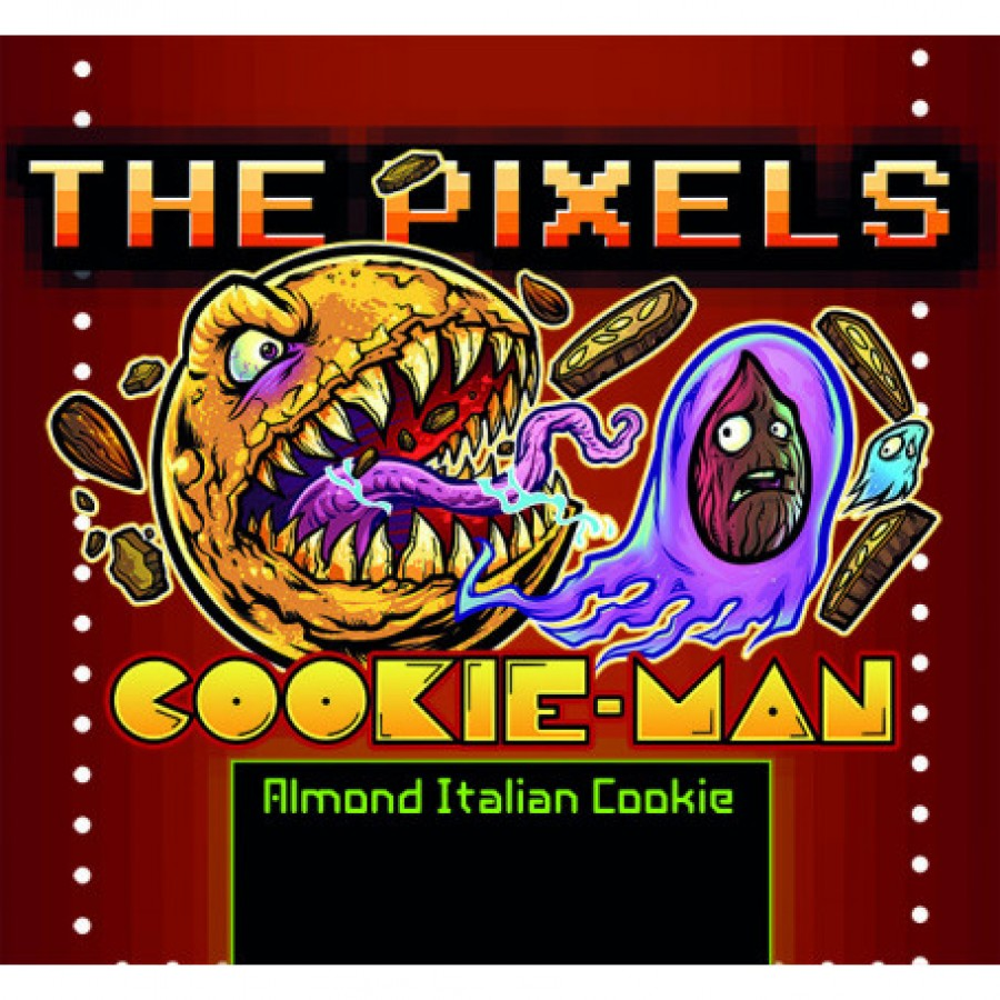 The pixels Cookie Man