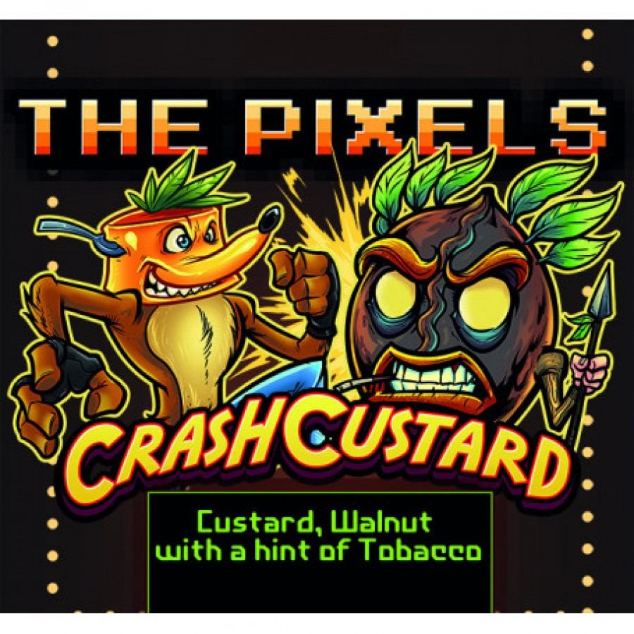 The pixel Crash Custard