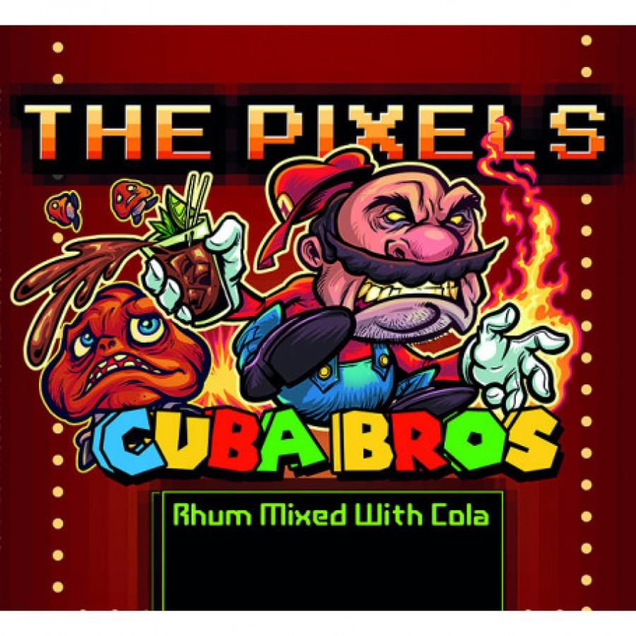 The pixel Cuba Bros