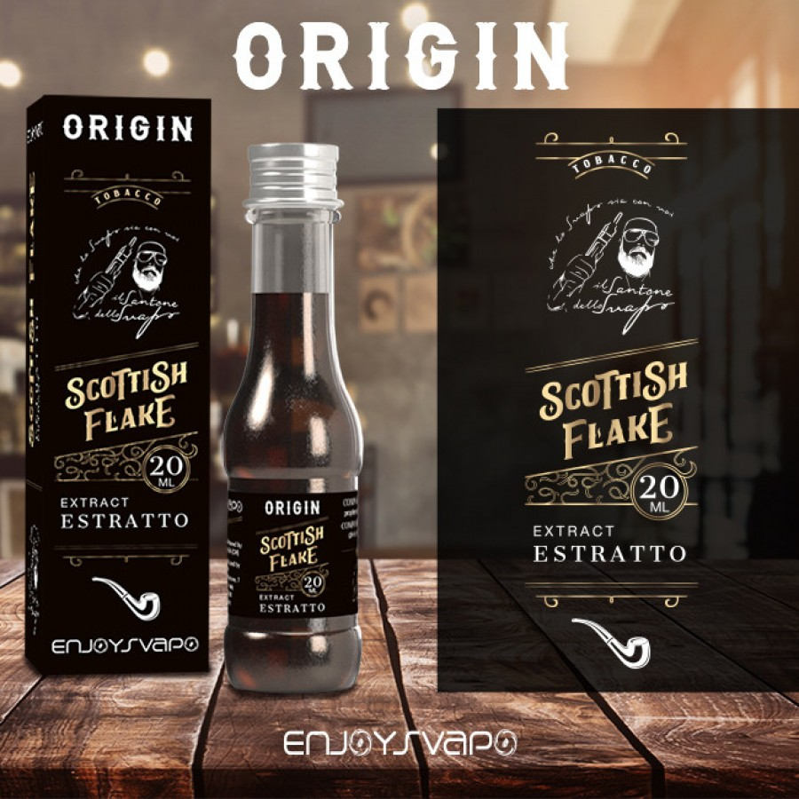 Enjoysvapo Aroma Scottish Flake 20ml by Il Santone dello Svapo