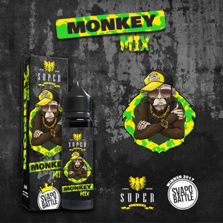 Super Flavor Concentrato 20ml - Monkey Mix by SVAPO BATTLE