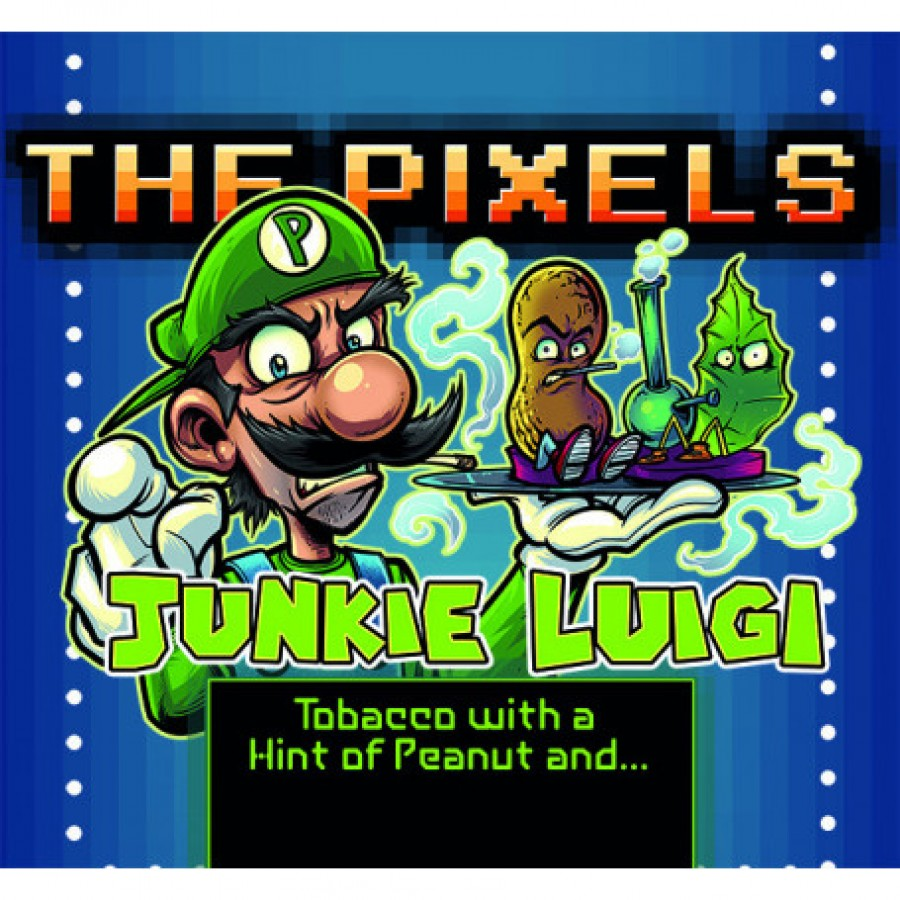 The pixel Junkie Luigi