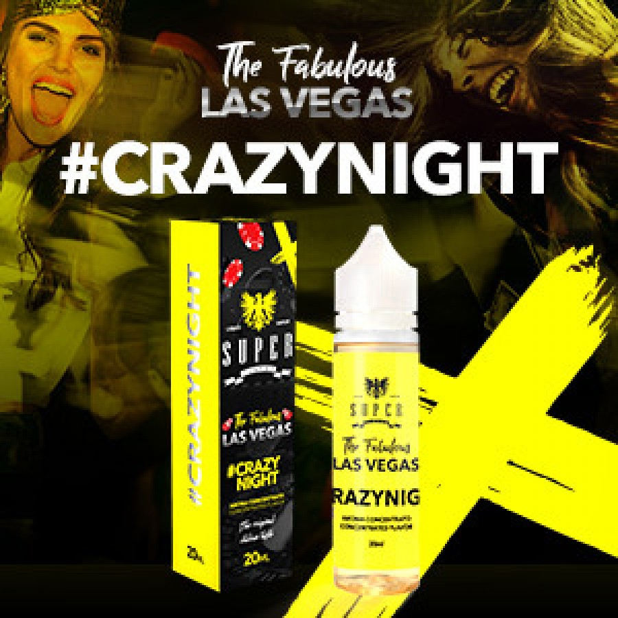 Super Flavor Concentrato 20ml - Crazynight