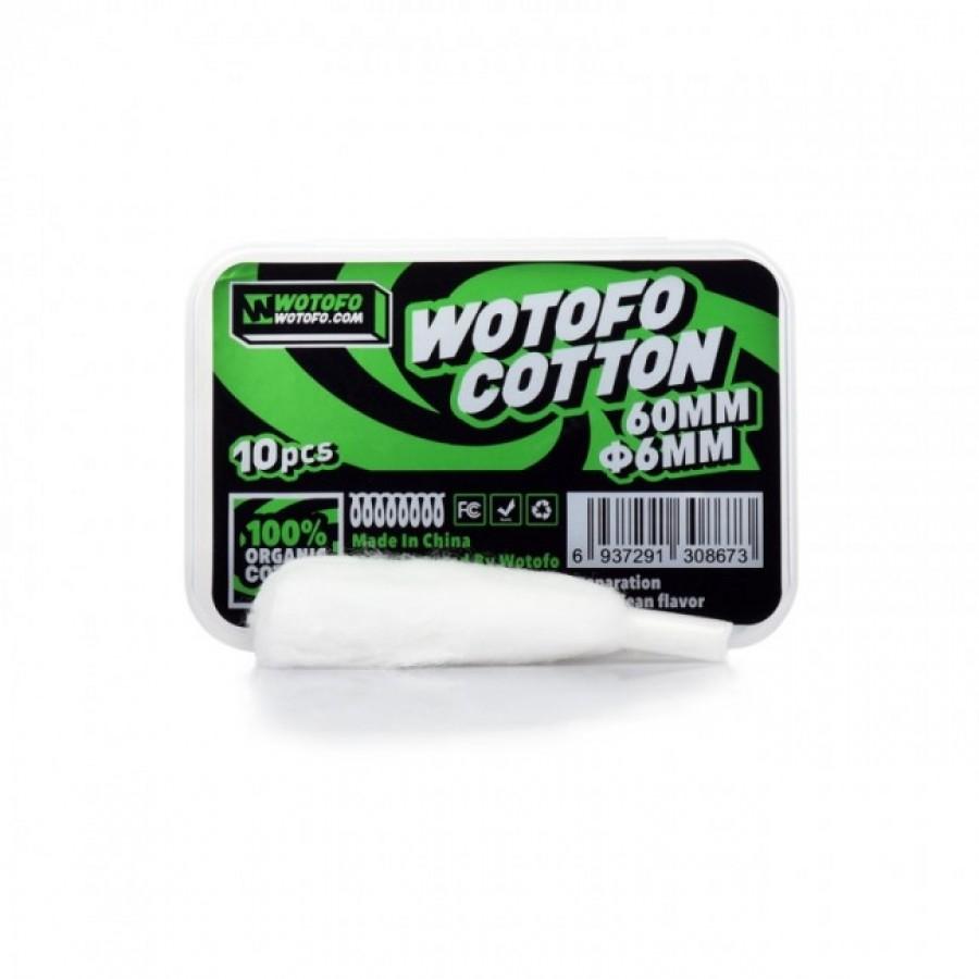 Wotofo - Cotone pretagliato con inserimento rapido 6mm